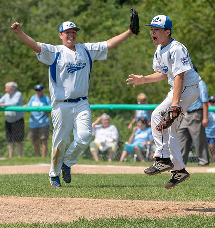 Action from Saturday's final game of the 2019 Maine State Little League Tournament where Lewiston defeated York to advance to the regional tournament.