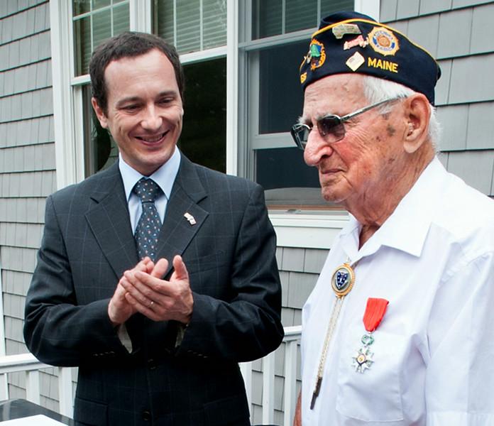 Legion of Honor recipient