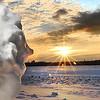 Snowbank face
