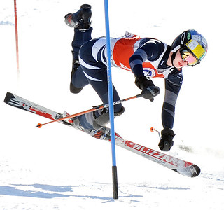 Class C state championship slalom ski race
