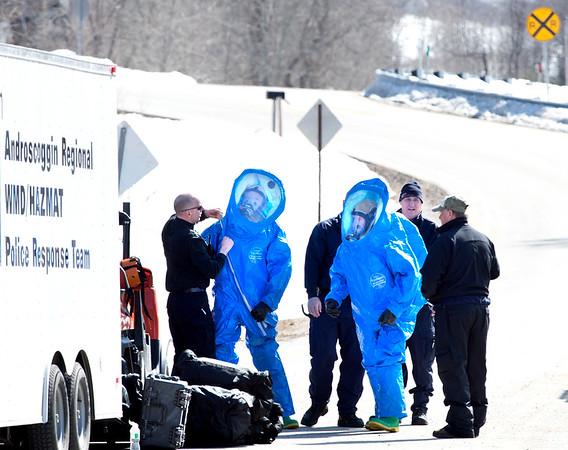 Chlorine gas leak in Auburn