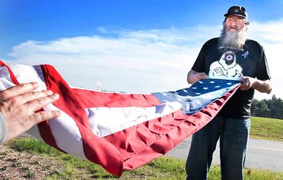 Flag raising at CMCC