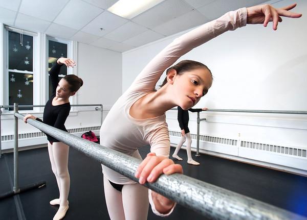 Balet practice