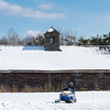 A snowmobiler cruises along the Mayville Trail in Bethel, Maine Saturday morning February 22, 2020. Recent snowfall and ideal weather was a blessing for outdoor sprots enthusiasts all over the state where many have had to deal with marginal conditions overall.