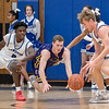 Action from Chevrus at Lewiston boys basketball in Lewiston on December 7, 2019.