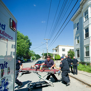 Child falls out third floor window in Lewiston