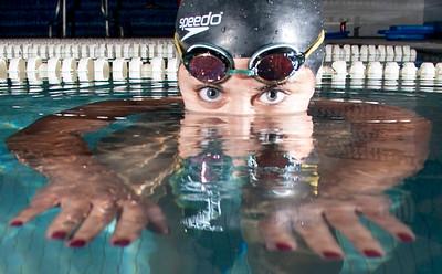 EL swimmer maggie Chirayath