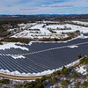 An aerial view and panorama of the solar field generating 9.2 megawatts with 30,240 panels, on 38.55 acres across from Schiavi Custom Builders on Route 26 in Oxford. It's 85% complete and due to be online this spring. The owner is TGL Oxford, LLC. Dirigo Solar is the developer.