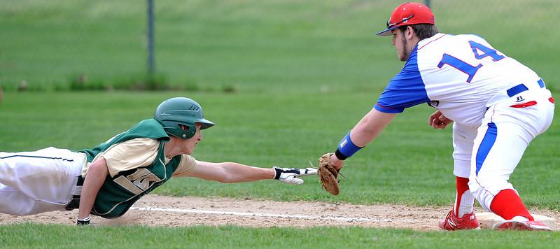 Messalonskee at Oxford Hills baseball