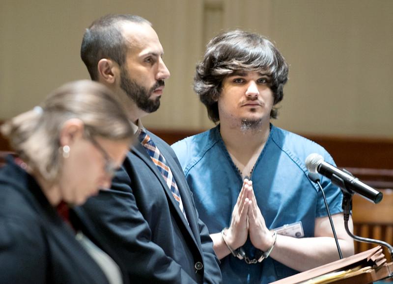 Benjamin Parker changes plea to guilty