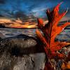 Lake Auburn sunset