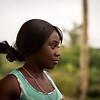 Leidy, de 16 años, del río Naya.