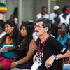 La Comisión Intereclesial de Justicia y Paz (Cijp) comenzó a acompañar a la comunidad nayense en 2001. Son los peticionarios de las medidas cautelares que la Comisión Interamericana de Derechos Humanos otorgó a la comunidad en 2002 y han estado a cargo de los procesos penales relacionados con la masacre de 2001; también hacen seguimiento a los procesos jurídicos relacionados con la titulación. En la foto, el Padre Alberto Franco de la Cijp.