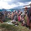 Refugee camps are prepared in a state of emergency.<br /> Rwanda, November 1996.<br /> <br /> © Laura Razzano