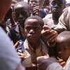 Doctors Without Borders distribute water's disinfectants.<br /> Rwanda, November 1996.<br /> <br /> © Laura Razzano