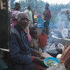 Refugees spend several nights outdoor.<br /> Rwanda, November 1996.<br /> <br /> © Laura Razzano