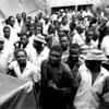 The prisoners are crowded to become a measureless throng.<br /> Rwanda, Prison of Gitarama, November 1996.<br /> © Laura Razzano