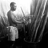 The kitchens of the prison.<br /> Rwanda, Prison of Gitarama, November 1996.<br /> © Laura Razzano