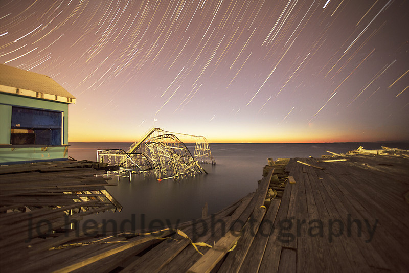 Star Trails Over The Star Colour     3 24