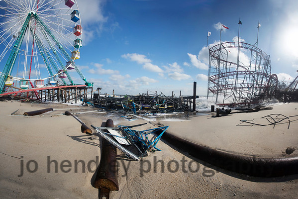 Wheel and Coaster, Funtown Pier