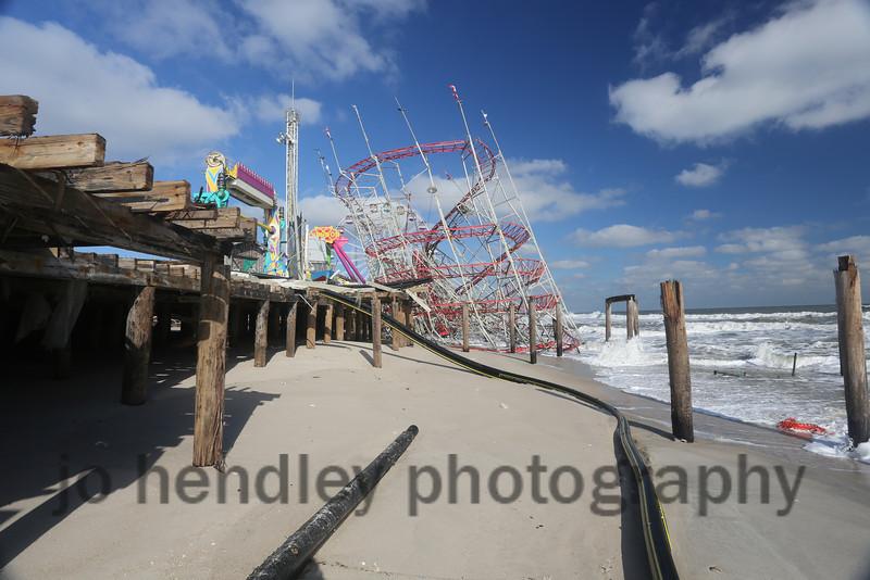 Snapped Pier, Seaside Park