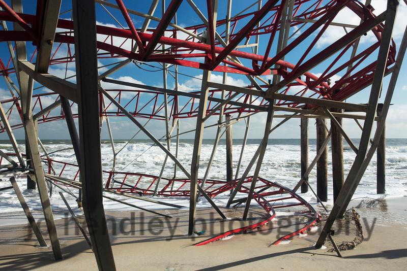 Fallen Coaster, Funtown Pier