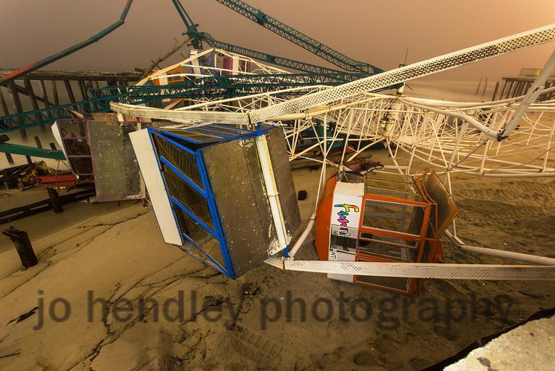 The Ferris Wheel Comes Down