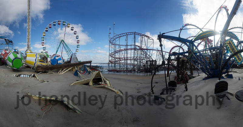 Funtown Pier Destruction, Seaside Park
