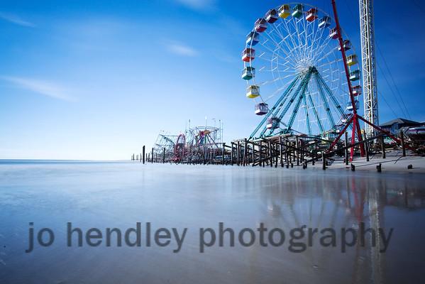 Long Exposure 4, Funtown Pier