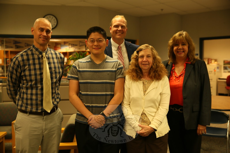 EH_ NHS's Allen Xue Named National Merit Scholarship Semifinalist