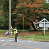 SH_Holick retiring as traffic agent -- directing traffic at Hawley 02