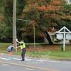 SH_Holick retiring as traffic agent -- directing traffic at Hawley 02