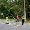 SH_Holick retiring as traffic agent -- directing traffic at Hawley 01