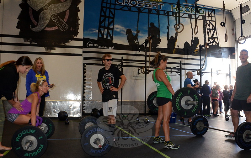 JV_Two Roads-Crossfit - interior weight lifters