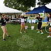 EH_ Newtown Arts Festival, Jane Shearin, Lindsay Dievert, Kayla Verga, Olivia Cavallero at NHS Choir booth