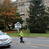 SH_Holick retiring as traffic agent -- directing traffic at Hawley 05