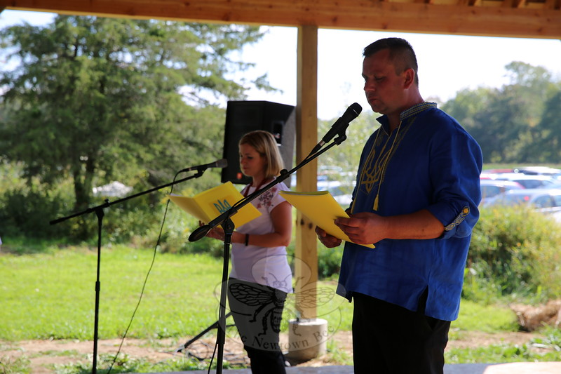 EH_ 42nd Annual Ukrainian Festival Draws A Crowd, Roman and Olena Stanislavskyy