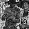 De izquierda derecha: Wilman González, (miembro del equipo de campo de la seccional Nordeste antioqueño de la Acvc-RAN e hijo del líder campesino y cofundador de la Acvc, Miguel Ángel González Huepa), y Franco Gómez, (coordinador del equipo técnico de la Acvc-RAN)