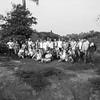 Una última foto de la comisión entera junto con las organizaciones acompañantes, antes de despedirnos del campamento.