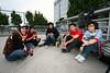 Sylas Huang and friends.<br /> <br /> November 7, 2007 © Jesse Warren