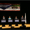 Candidates (left to right) Don Berwick, Evan Falchuk, Martha Coakley, Steve Grossman and Jeff McCormick with forum moderator Peter Howe (far right).