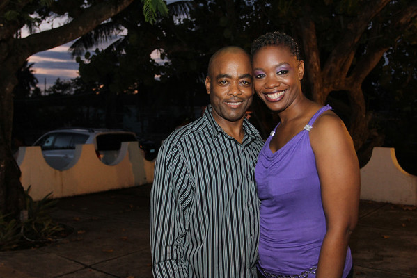 Zenia Lightbourne and Gerald Williams.