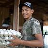 Jonathan también forma parte de Cahucopana, es una de las personas encargada de la logistica durante el evento de mujeres.