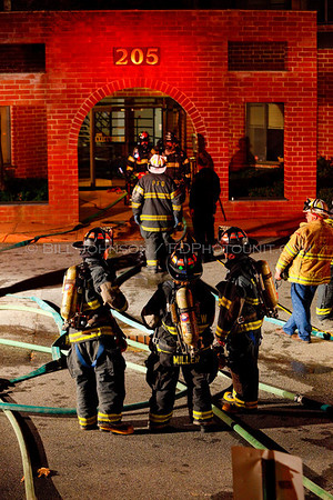 Structure Fire - City of Poughkeepsie Fire Department - 205 South Ave-11/10/09