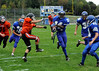 Russ Dillingham PhotoGRAPHICS<br /> 9/22/11<br /> Lewiston Freshman football game against Gardiner.