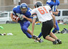 Lewiston High School Freshman football vs. Brunswick at LAP on 9/8/11