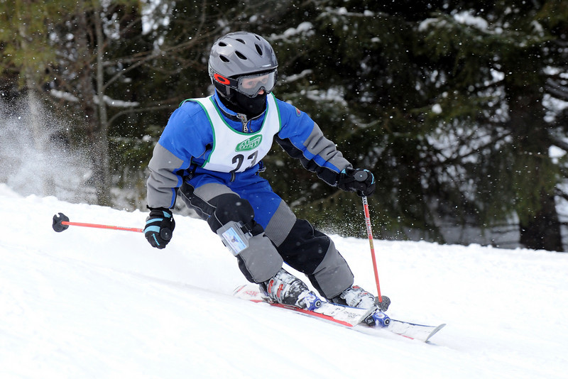 Racers at Lost Valley compete in the Mountain Dew Racing Series.