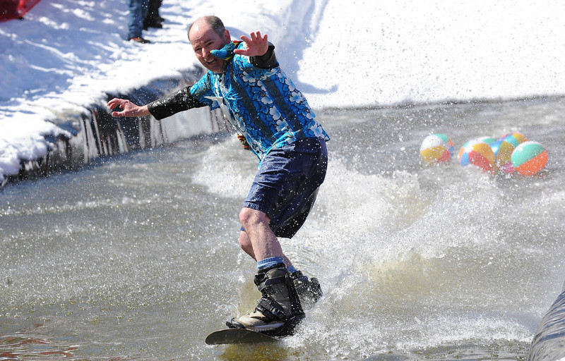 Scenes from Sunday's Parrot Head Festival at Sunday River in Newry Maine.