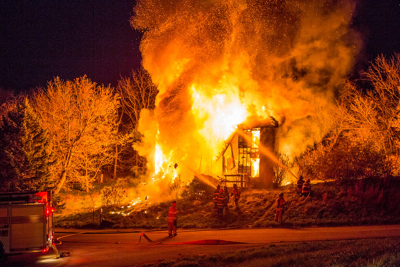 Altman Road House Fire