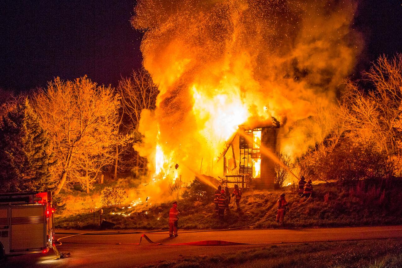 Altman Road House Fire